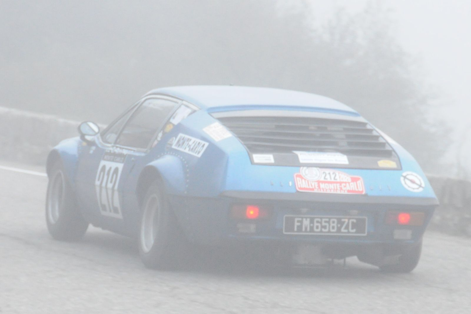 Alpine A310  1600 1972 ..... Photo : R.S.