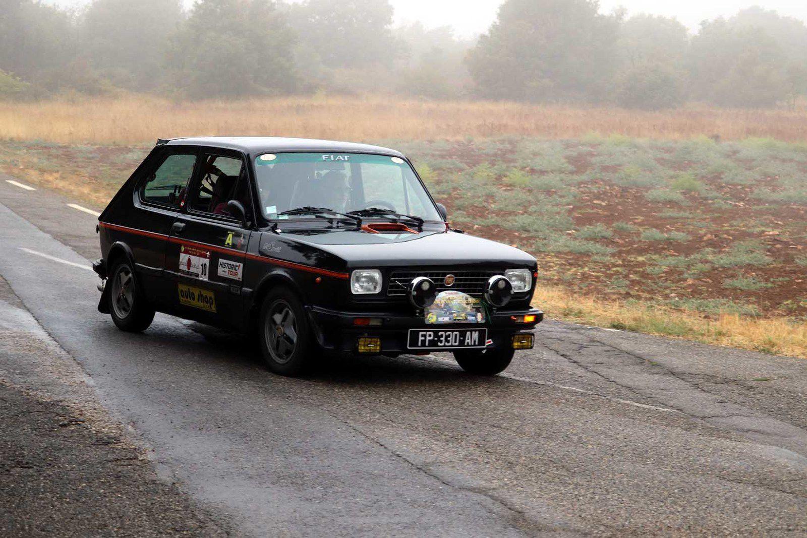 Christian Duclaux/Mickaël Alcais Fiat 127 Sport 1979 ..... Photo : JB