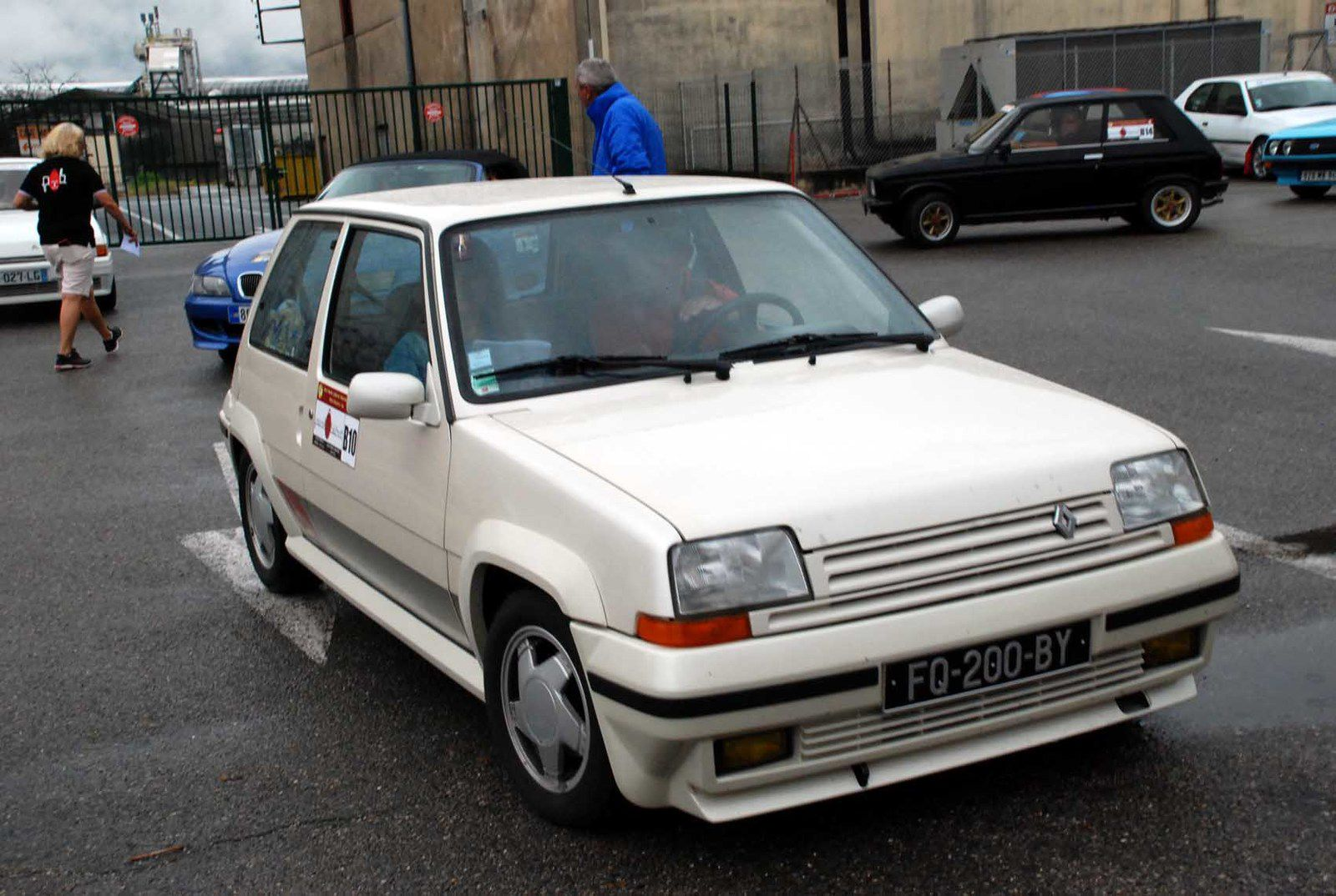 Stéphane & Cathy Couve Renault 5 GT Turbo 1989 ..... Photo : HC