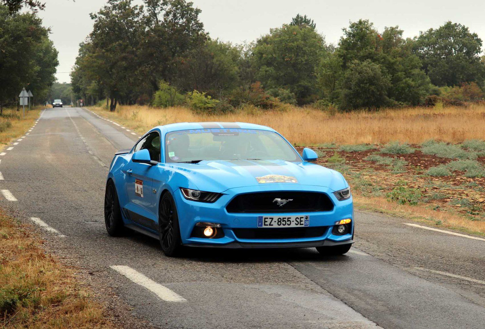 Alain & Nicole Sortry Ford Mustang GT 2018 ..... Photo : JB
