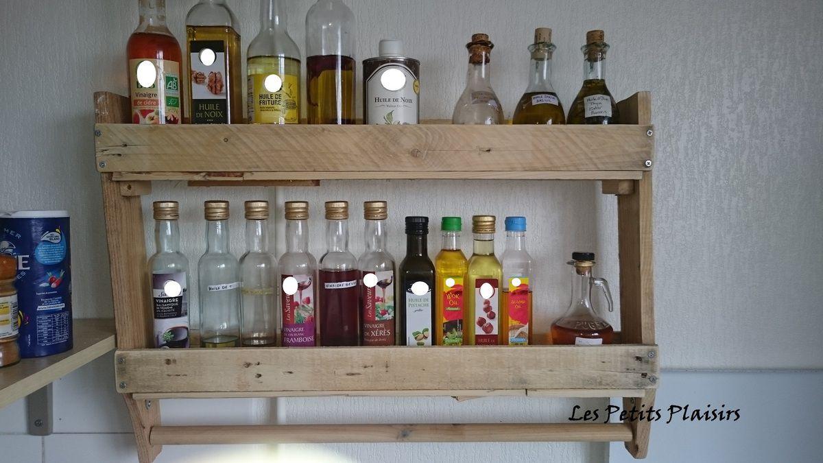 Que Faire Avec Une Petite Palette etagère de cuisine en bois de palette - les petits plaisirs