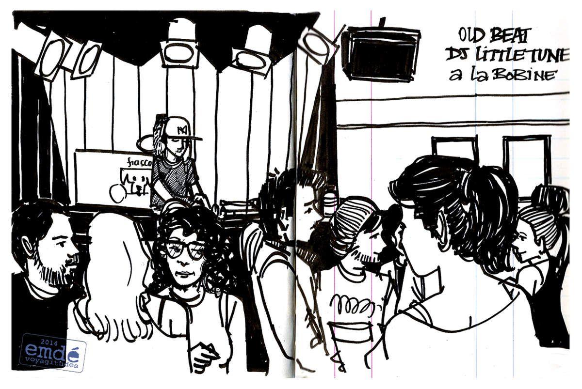 DJ Little Tune // La Bobine // emdé, 2014