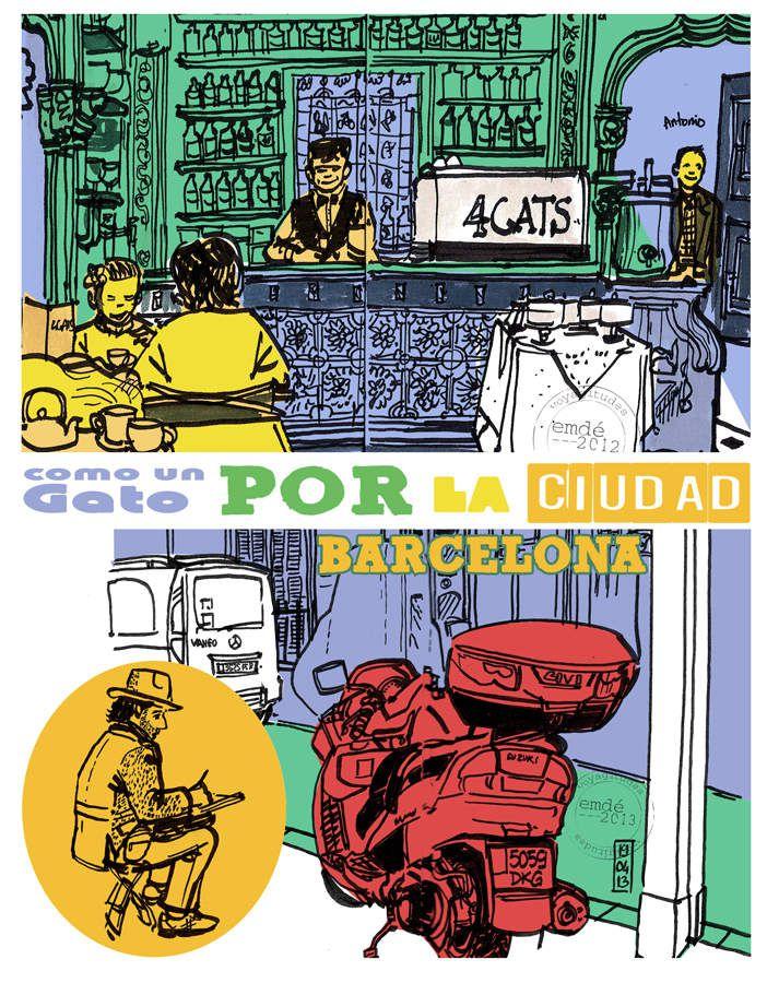 soniquete a colores // carnet de Barcelone // emdé,2013