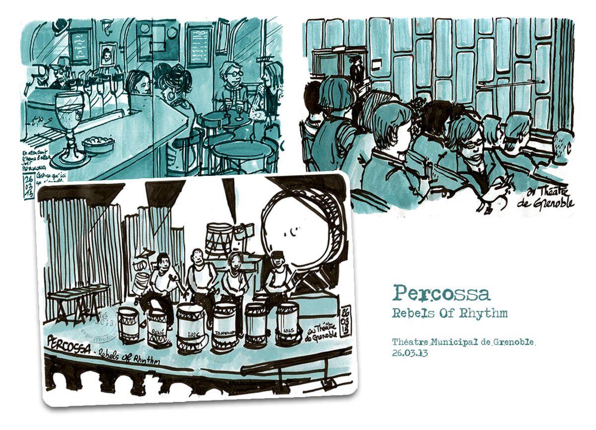 Percosa - Théâtre de Grenoble // emdé, 13