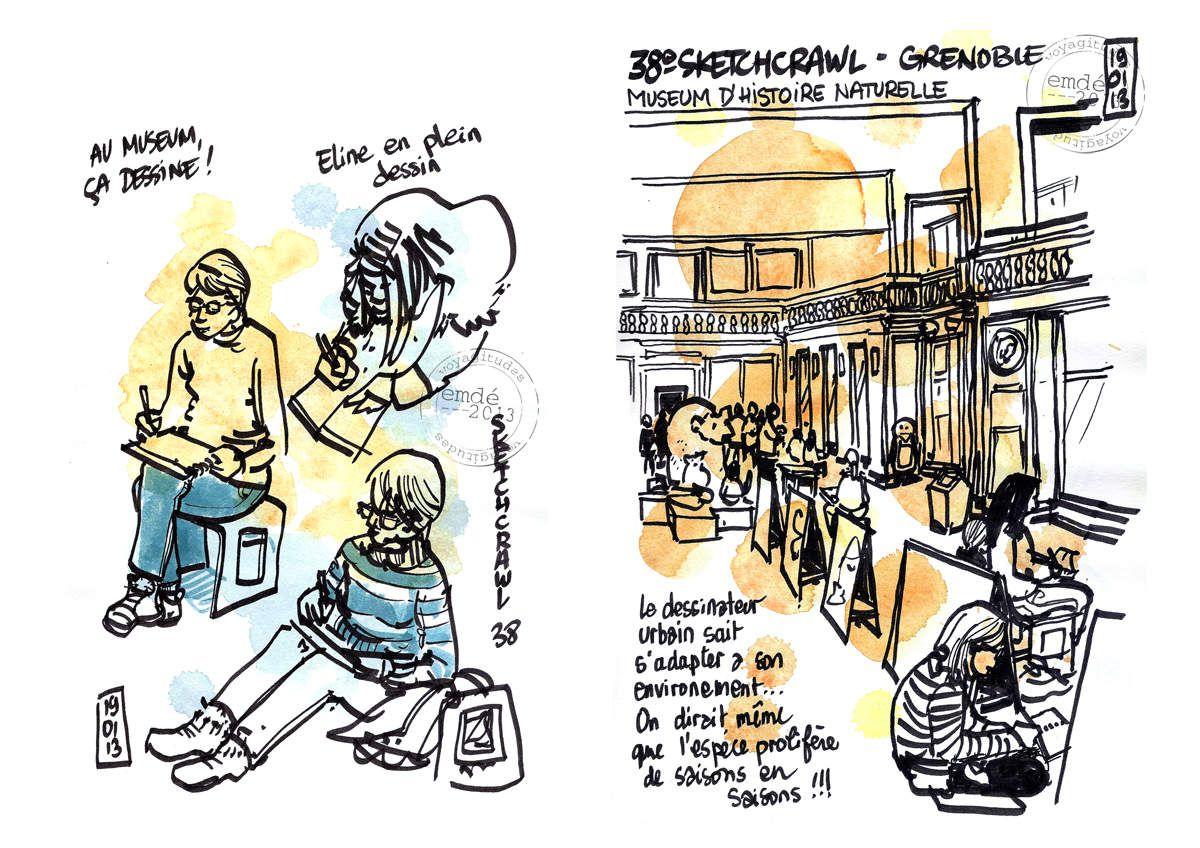 38e SketchCrawl à Grenoble [results]