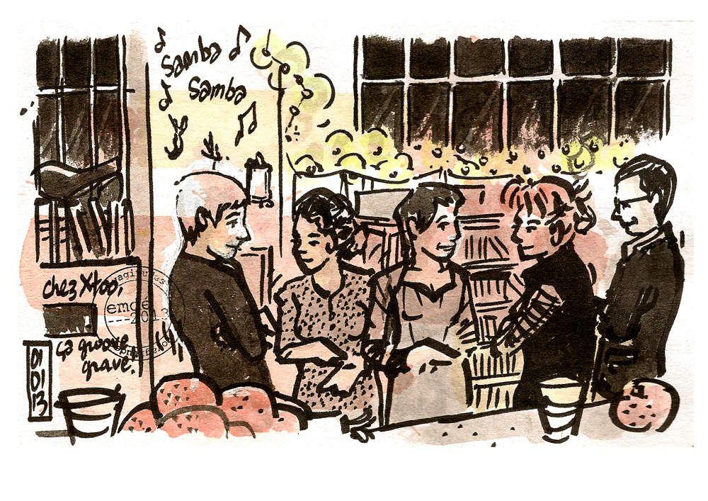 Sambonannée ! // emdé, 2012/13