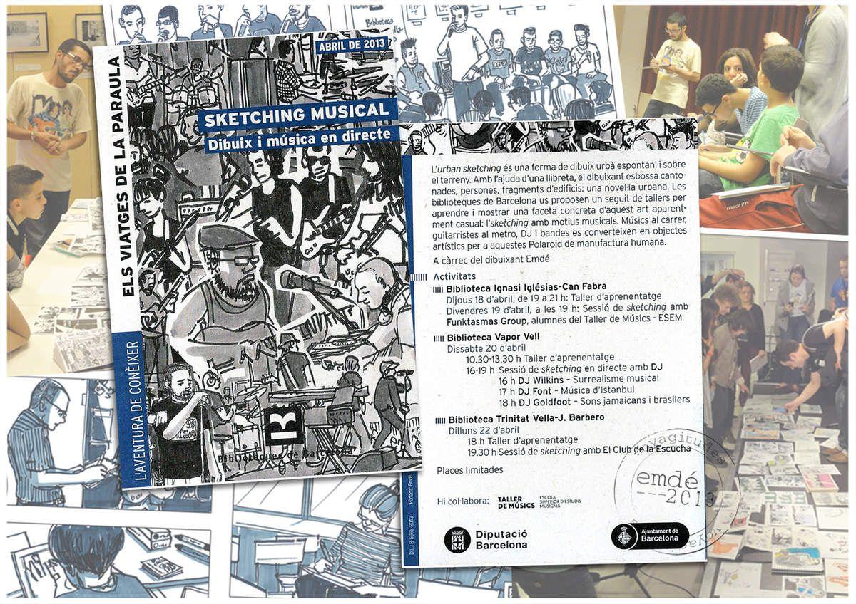 Sketching Musical : atelier dessin et musique