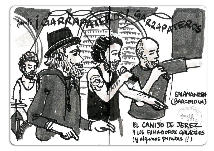 El Canijo de Jerez / Sala Salamandra (Barcelona) // emdé, 2012