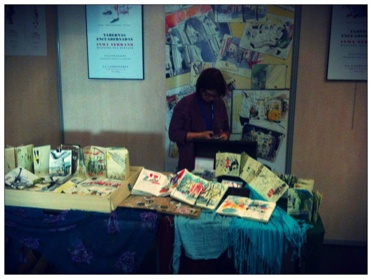 Salon du Carnet de Voyage - Clermont-Ferrand // emdé, 2012