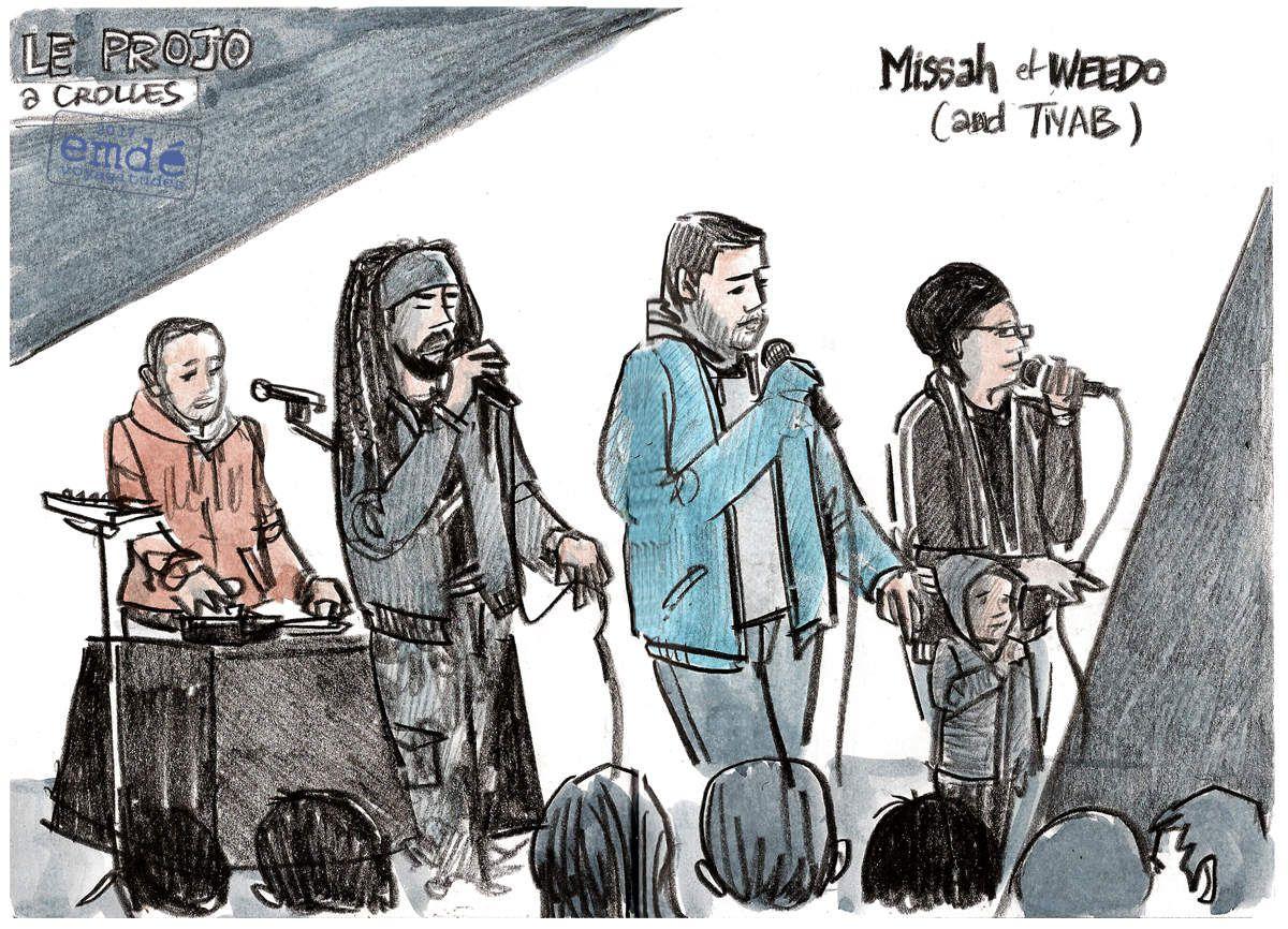 Dub Reggae Session #01 au Projo (Crolles) // emdé, 2017