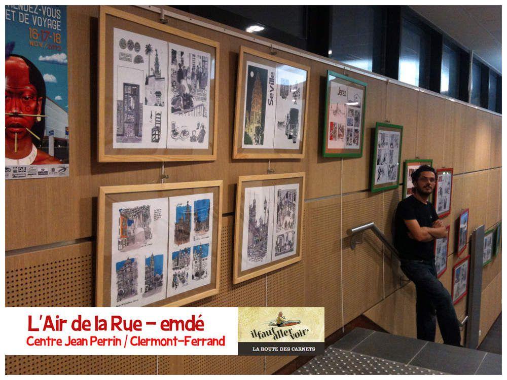 L'Air de la Rue - La Route des carnets - Centre Jean Perrin (Clermont-Ferrand) // emdé, 2012