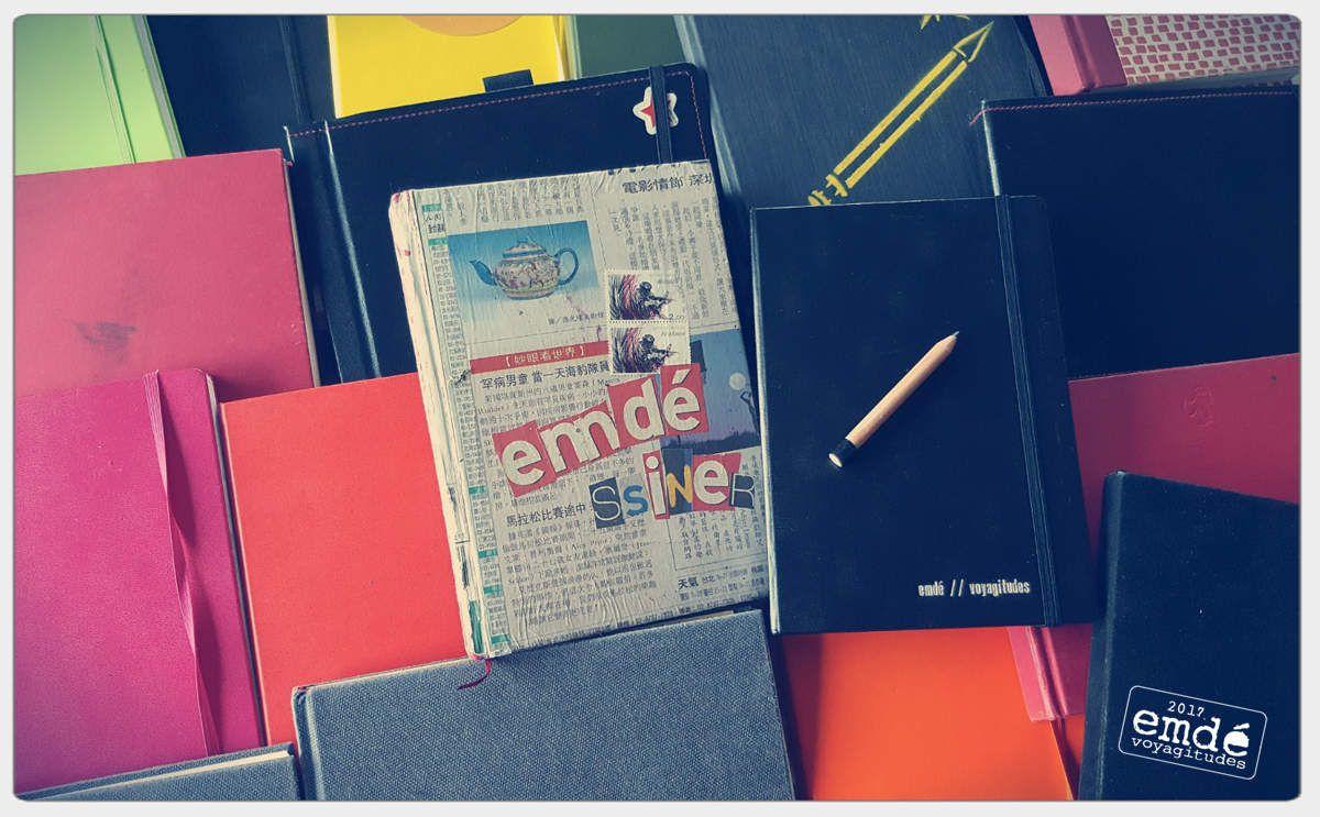 souvenirs inside !! carnets, emdé 17