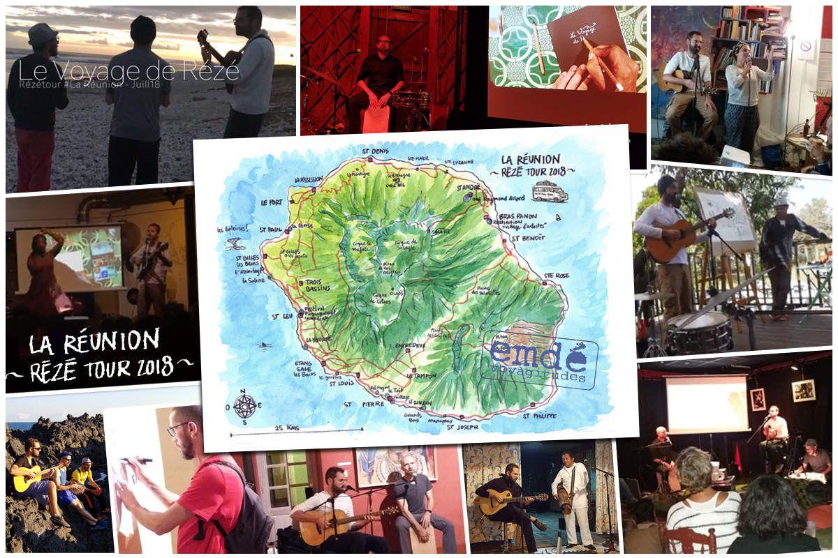 Rézé Réunion Tour / Les Productions du Bazar, 2018