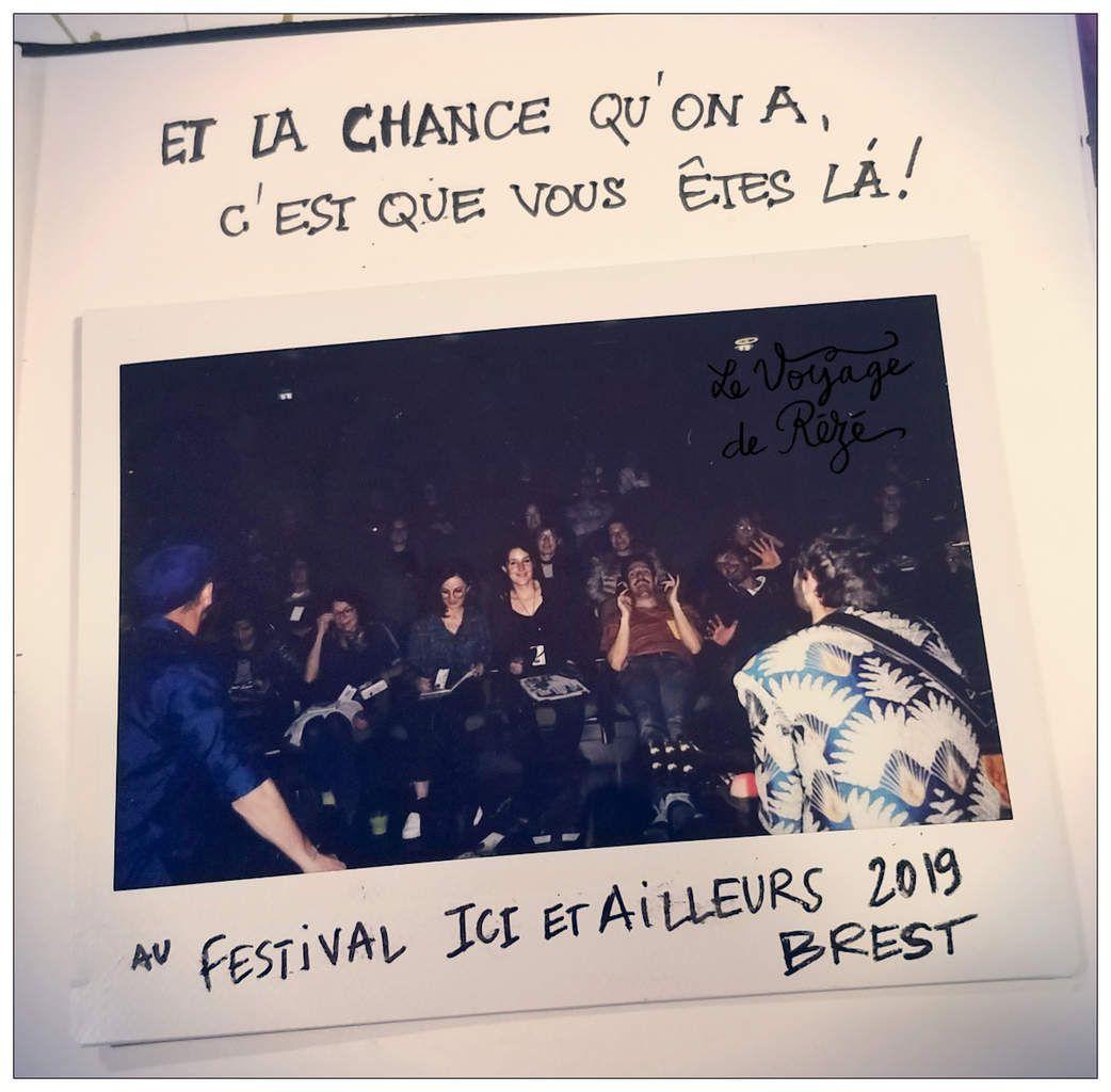 Le Voyage de Rézé au festival Ici & Ailleurs, Brest 2019 // emdé, voyagitudes 2019