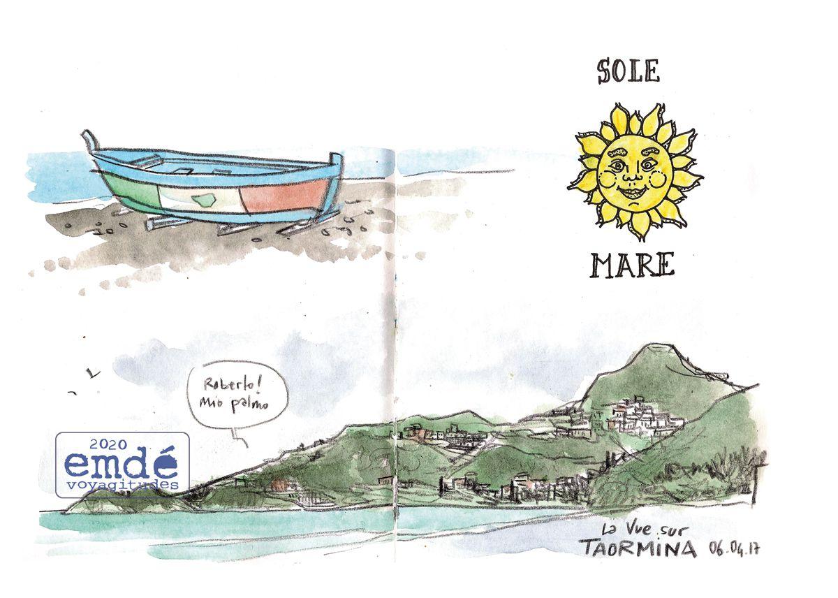 Sicilia, diario de viaggio // Sicile, Carnet de voyage // emdé, voyagitudes 2017