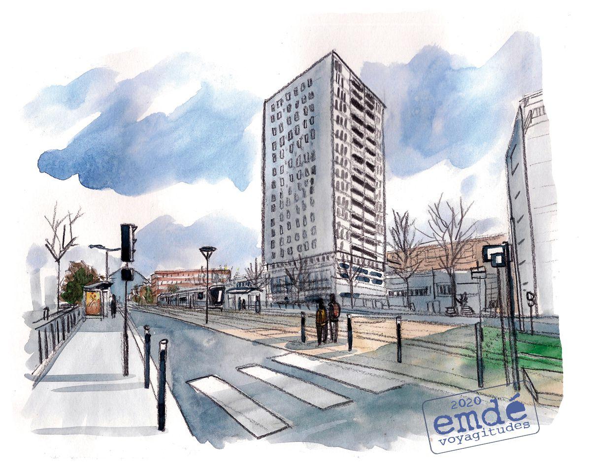 Croquis de Quartier // Gremag & ville de Grenoble - emdé, 2020