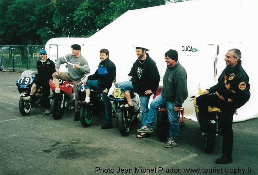 Laurent Astier, Etienne Godart, Cyril Guillemin, Fabrice Miguet, Marc Dufour, Marc Granié