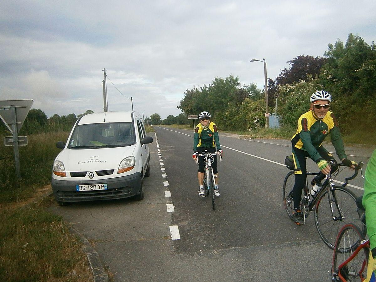 Nos valeureux cyclistes