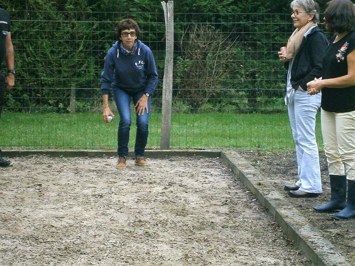 Allez Françoise un petit saut !!