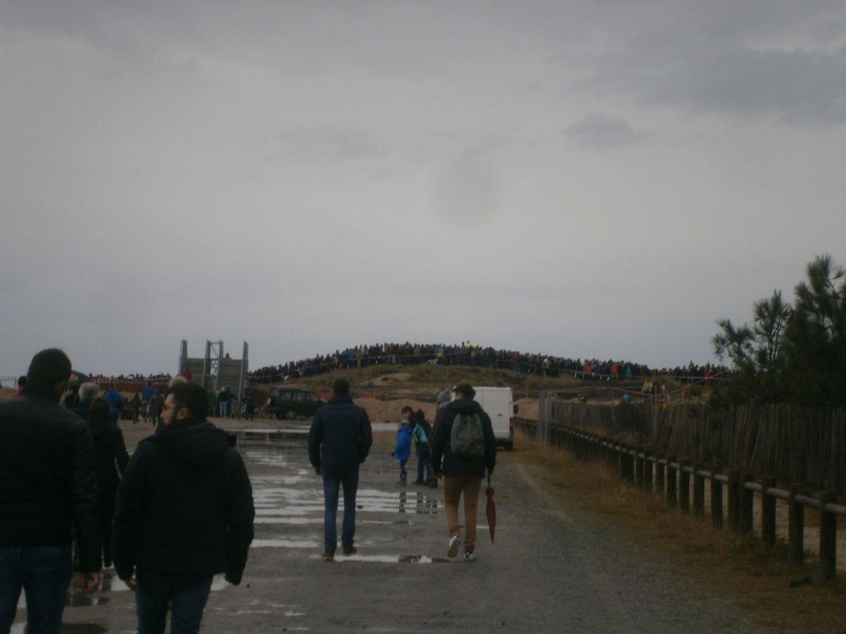 Le ralliement  des 1er motards via le départ