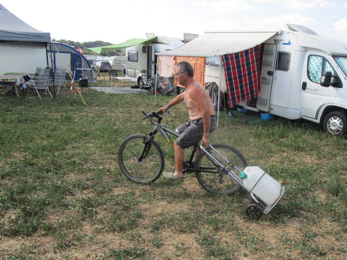 Les affaires de la vie courante : lavage , etc ...et repos