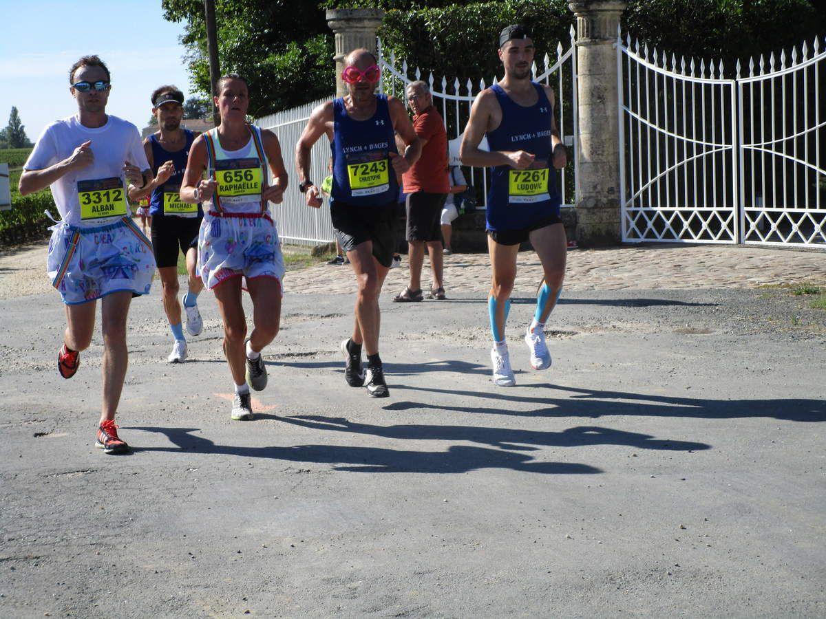 Le Marathon des châteaux du Médoc en images
