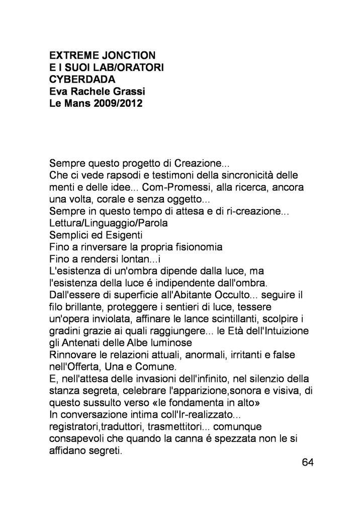 REFLEXIONS CYBERDADA (1986-2016) EVA RACHELE GRASSI ANGELO ERMANNO SENATORE