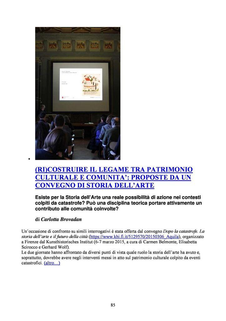 ZRALT: LA RIVISTA CULTURALE DELLA ZONA ROSSA (www.zralt.it)