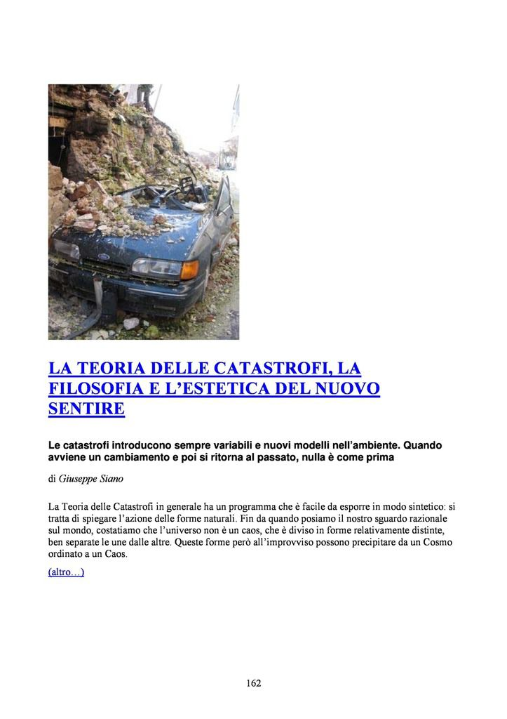 INDICE GENERALE ZRALT NN. 1-22 / LA RIVISTA CULTURALE DELLA ZONA ROSSA !