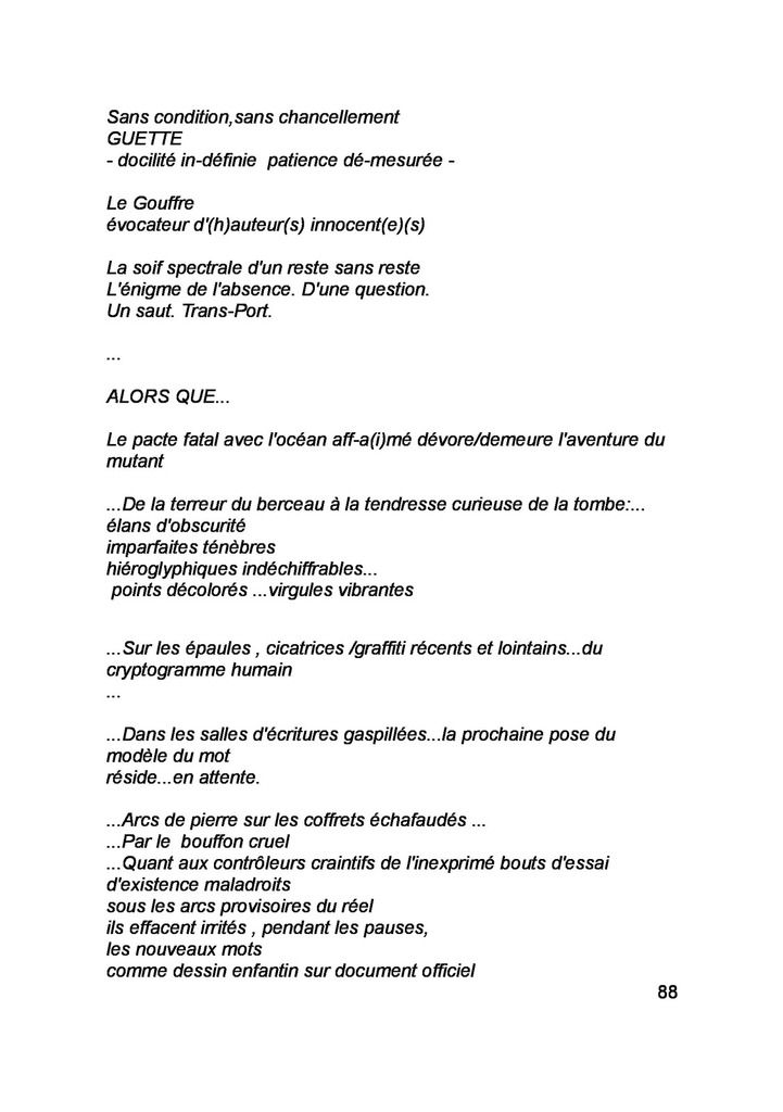EVA RACHELE GRASSI - ANGE PAS-SAGE...(IT-FR)