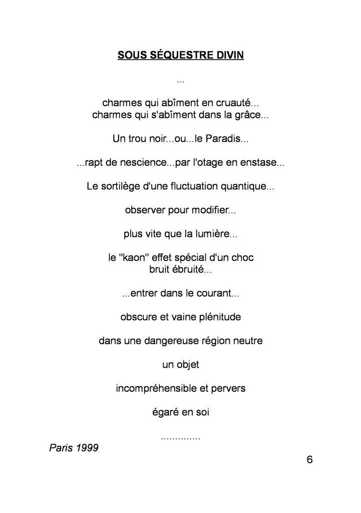 EVA RACHELE GRASSI / IMPENSABILITE ININTERROMPUE (FR)