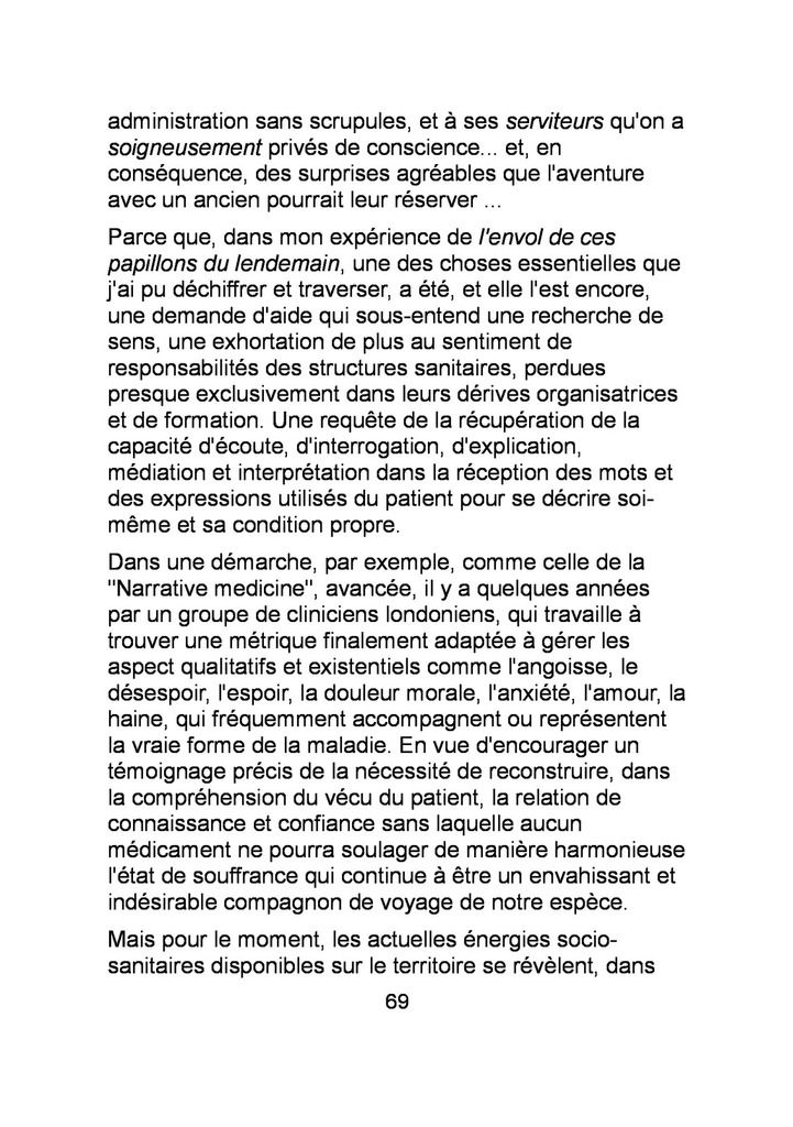 EVA RACHELE GRASSI : L'INTEMOIGNABLE EUTOPIE (FR)