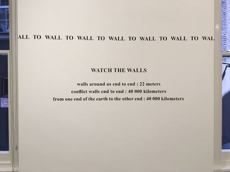Watch the walls !