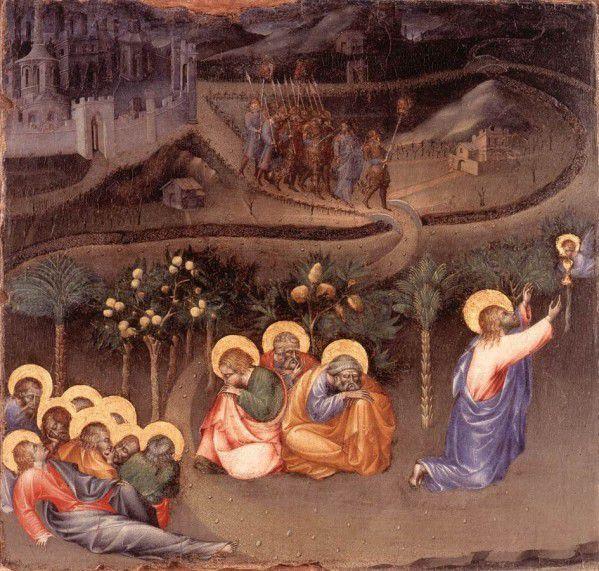 Détrempe sur bois de Giovanni di Paolo, Pinacothèque du Vatican, 1430-1435.