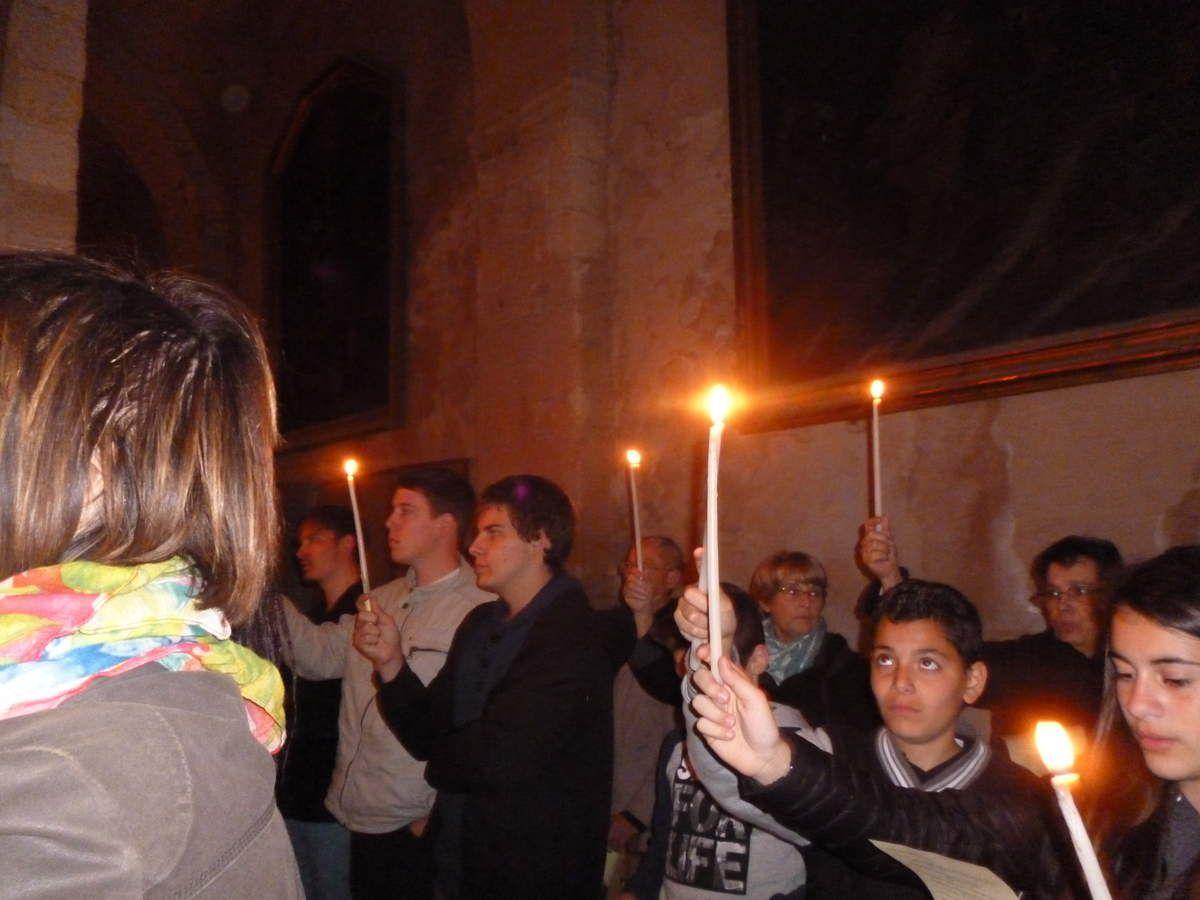 A TOI LA GLOIRE, O CHRIST RESSUSCITE : RETOUR EN IMAGES SUR LA VEILLEE PASCALE A MARTIGUES