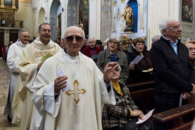 Eglise de La Madeleine, dimanche 13/4/2015. Photos Alain Espinosa
