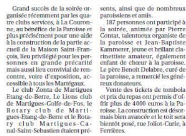 La Provence du 3/05/15