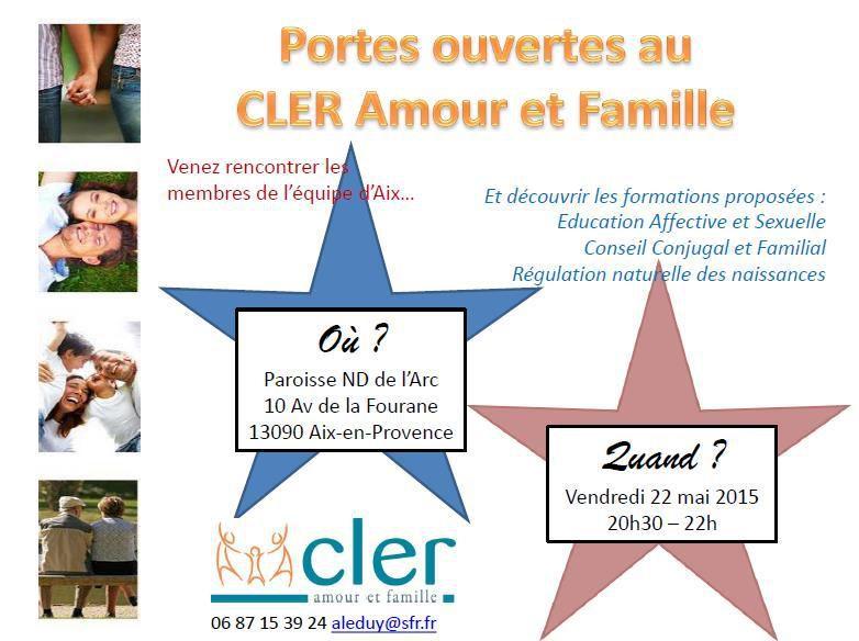 VENEZ DECOUVRIR LE CLER AMOUR ET FAMILLE !