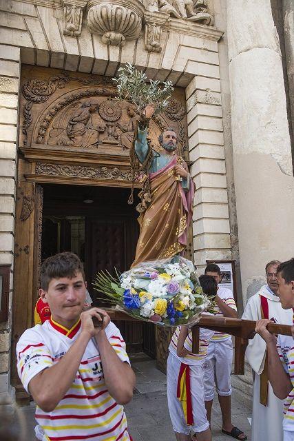 Messe des pêcheurs à La Madeleine, bénédiction dans l'étang, procession dans les quartiers de Martigues. Photos Alain Espinosa, La Provence et Maritima