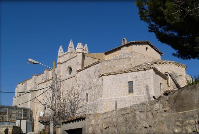 Eglise Saint Jean Baptiste de Castrojeriz.