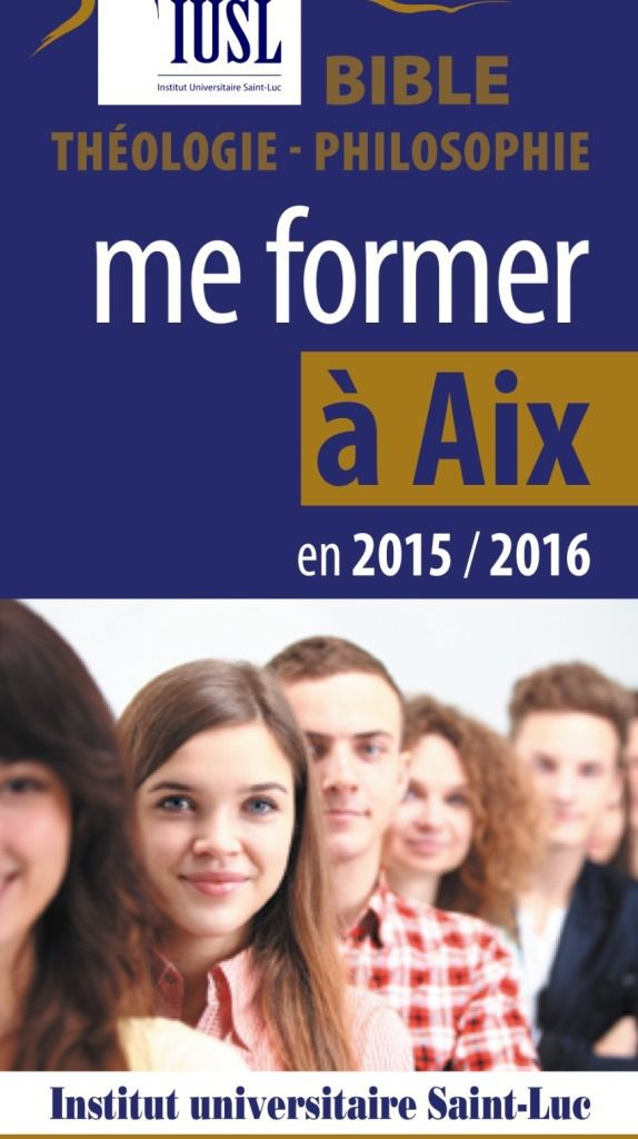 THEOLOGIE : SE FORMER A AIX