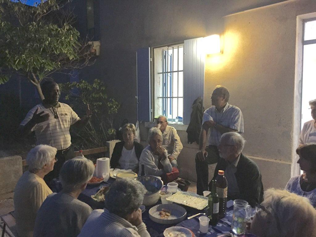 SOIREE D'ADIEU AU PERE EDOUARD