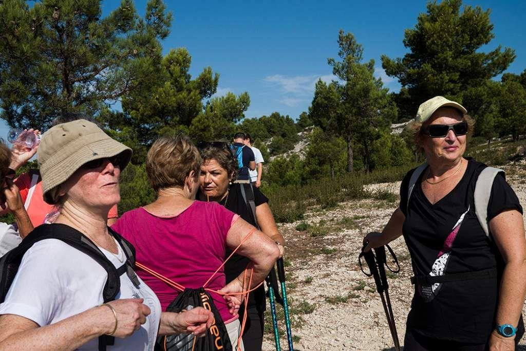 RANDONNEE A LA CHAPELLE DE SAINTE CROIX : LES PHOTOS D'ALAIN ESPINOSA