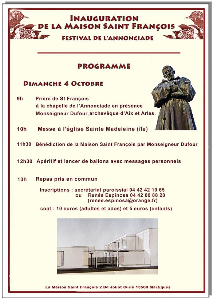 Le rendez-vous est fixé à la chapelle de l'Annonciade, dimanche à 9h.