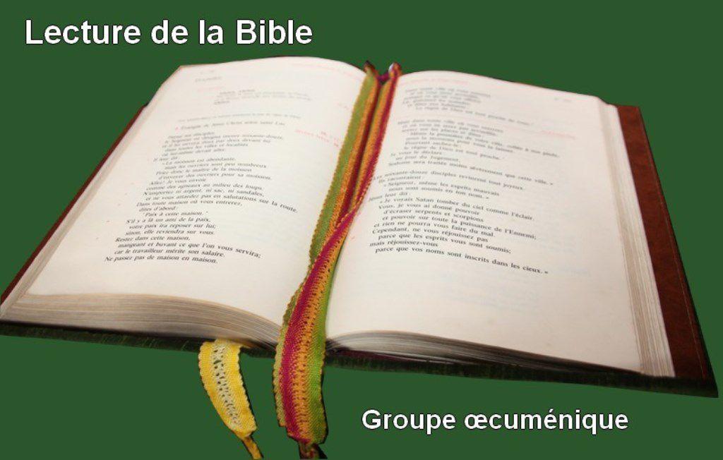LE GROUPE BIBLIQUE REDEMARRE
