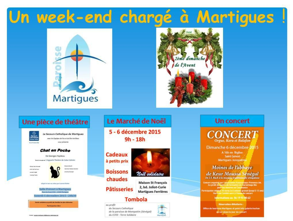 UN WEEK END CHARGE A MARTIGUES !