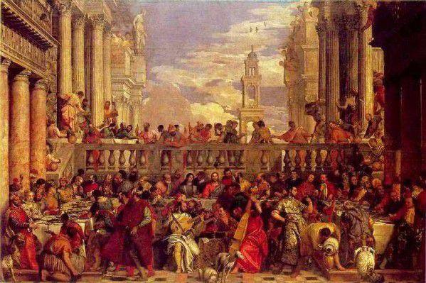 Les noces de Cana, Paul Véronèse, 1562-1563, Musée du Louvre.