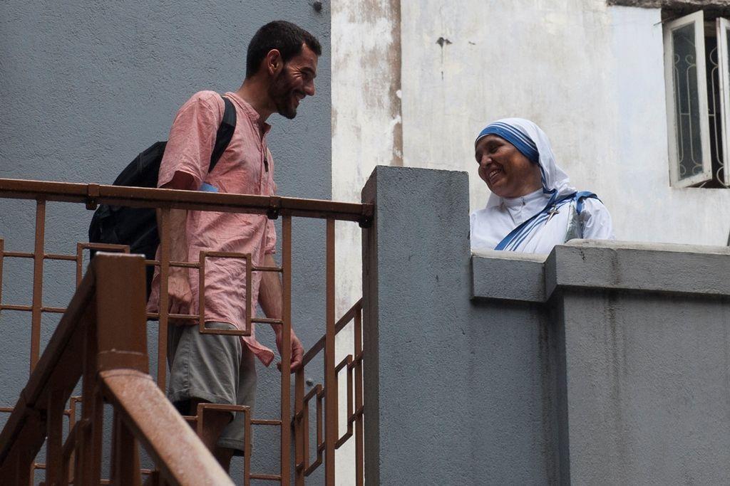 La Paroisse de Martigues chez Mère Teresa à Calcutta, en 2012