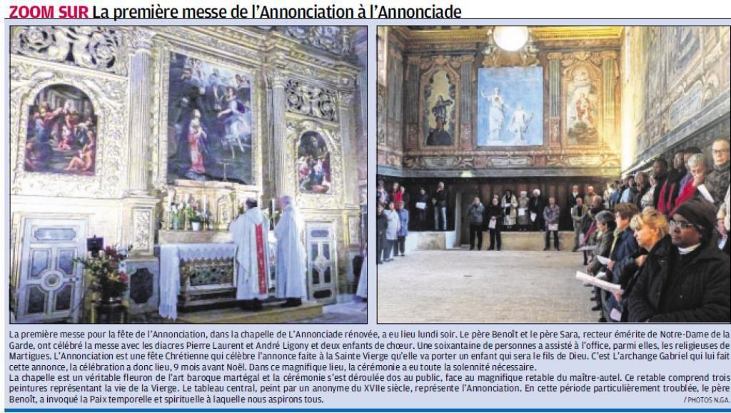 La Provence du 6/4/2016