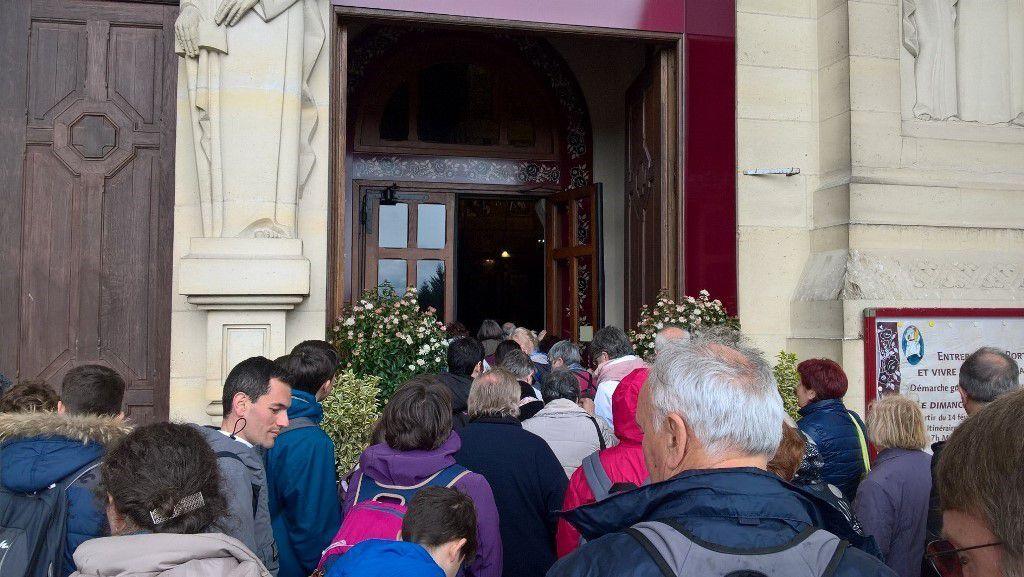 Derniers regards sur la Basilique et la Crypte avant le retour à Martigues !